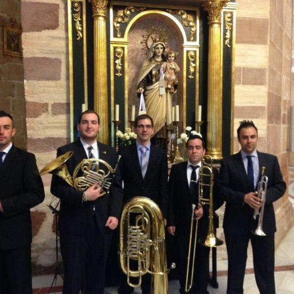 Con el Quinteto Brass