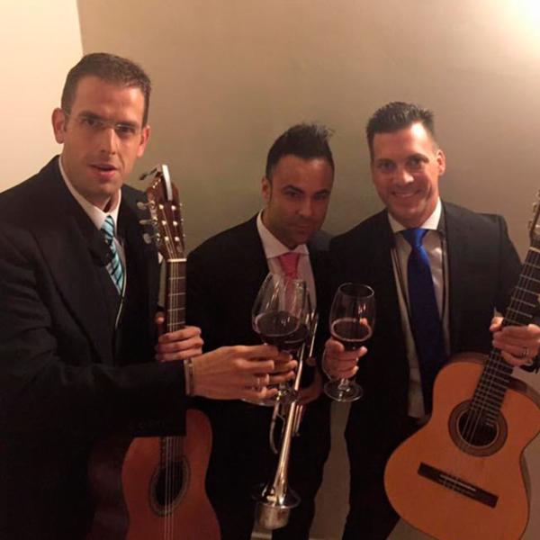 Sergio García (Grupo Amaranto y Vientos del Sur) y Benigno Cantero (Coro Romero)