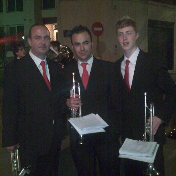 Con la Filarmónica de Jaén