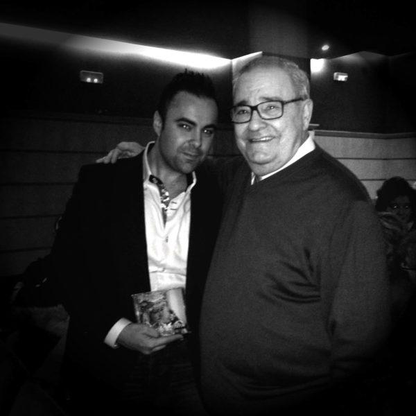 Con el maestro Vilchez