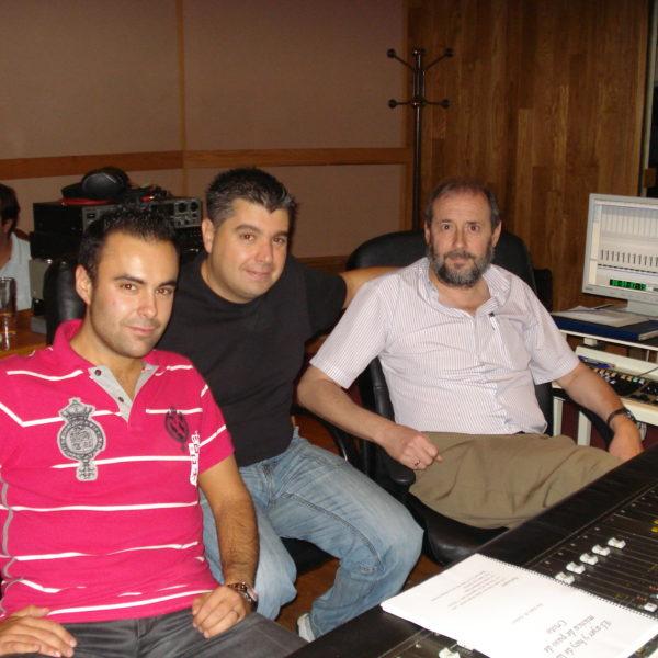 Con Pedro Pacheco y Pepe Torrano